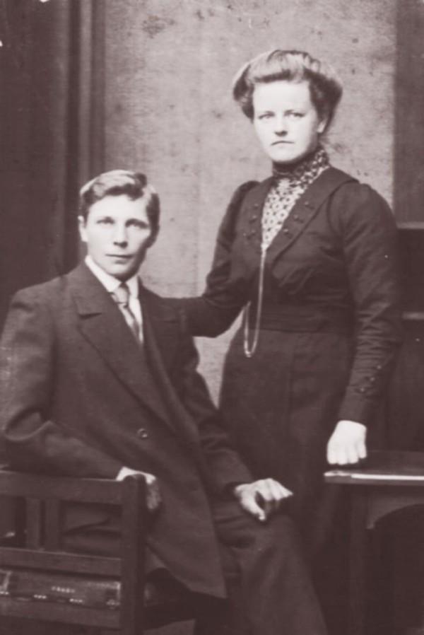 Steven van der Schagt en Wilhelmijntje van den Broek