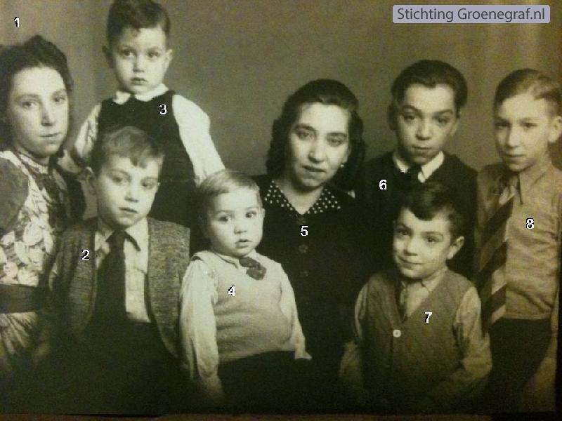 Johanna Maria Petronella Berlips met kinderen Gaarenstroom