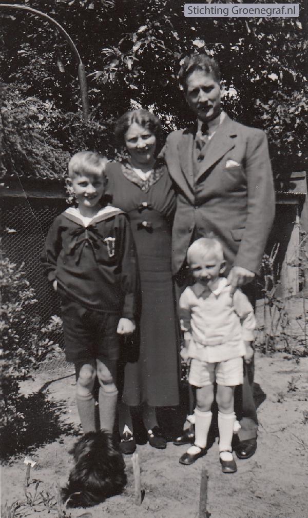 Andries Bleijerveld en Janna van Lambalgen met de kinderen