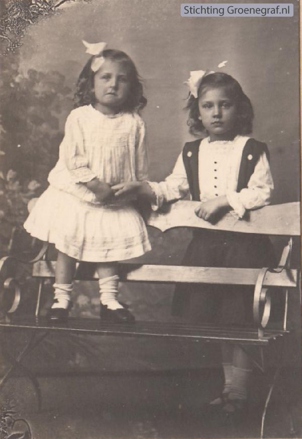 Elisabeth Johanna van der List en Cornelia Hendrika van der List