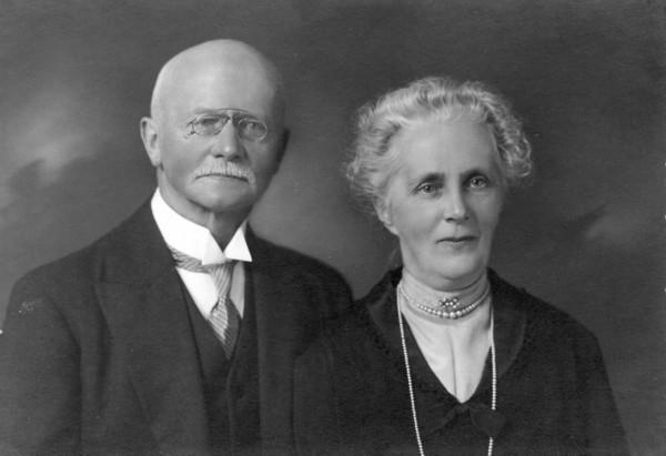 Teunis Pluim en Elisabeth Büller