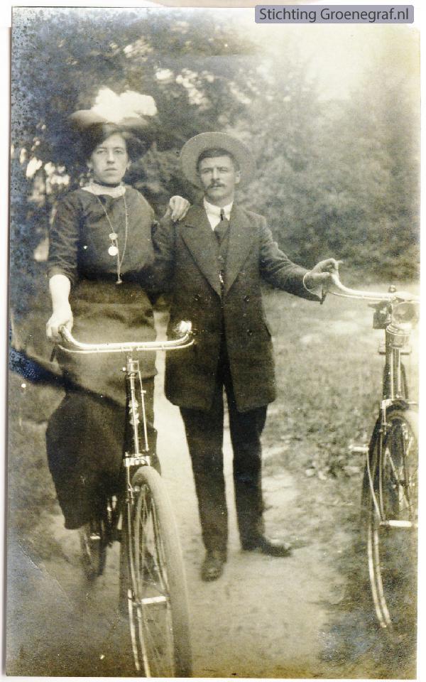 Christina Westerik en Johannes Hendrik van Dort