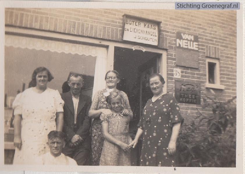 Familie Schouten, Padangstraat