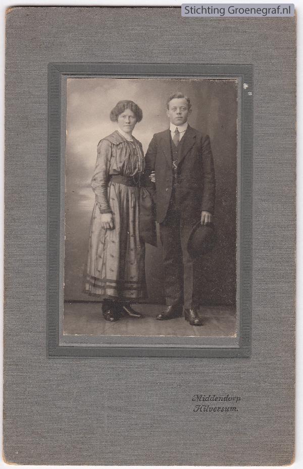Catharina Johanna van Dregt en Jan van Ommen