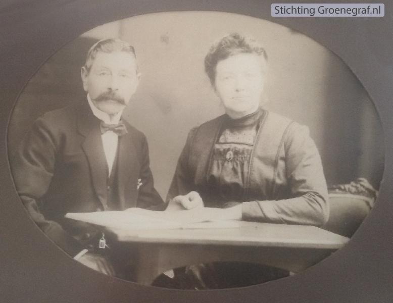 Teunis Veldhuijsen en Gijsje van den Wijngaard