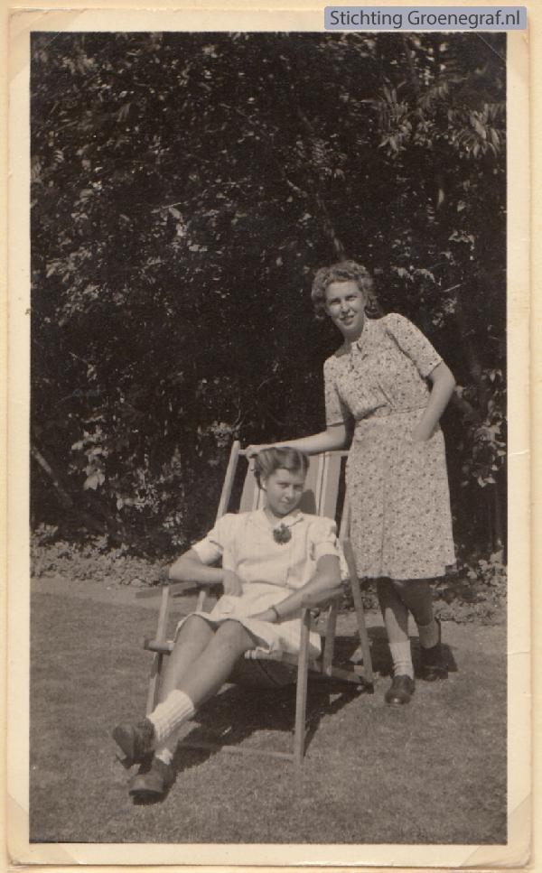 Cornelia van Mill en Gijsbertha Clazina Heij