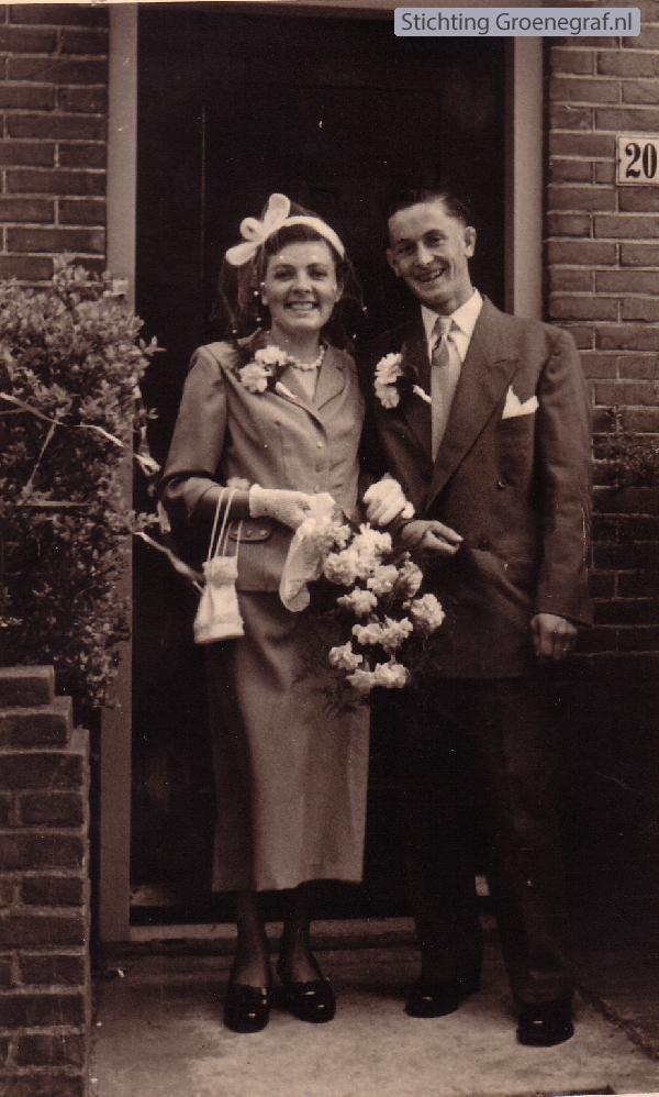 Gerharda van de Veen en Steven van Soeren trouwfoto