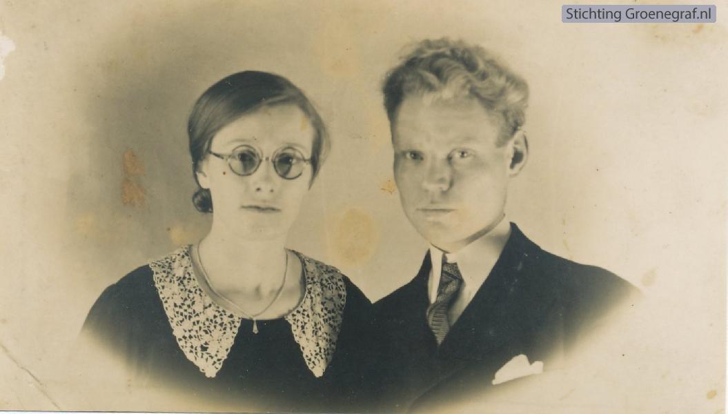 Klaaske de Haan en Gerrit Willem Cozijnsen
