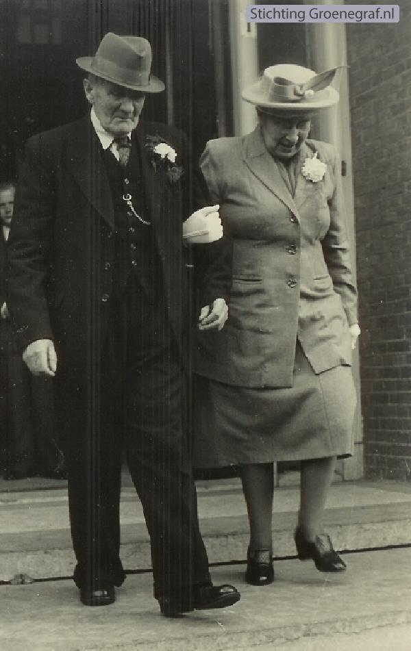 Alexander Radstok en Alida Wilhelmina van Diermen