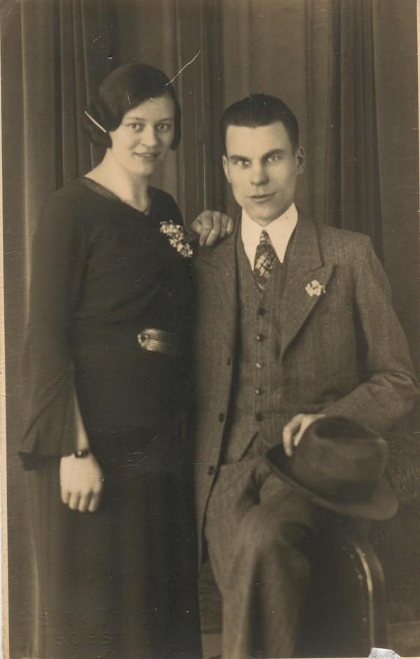 Catharina van den Broek en Luitze Dalman
