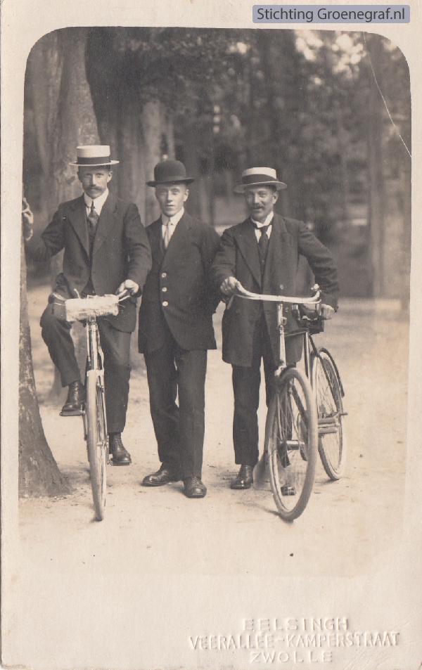 Janus van de Pol, Gerrit van de Pol en Evert van de Pol