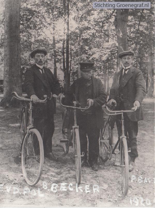 Evert van de Pol, Bernardus Becker en P. Bast