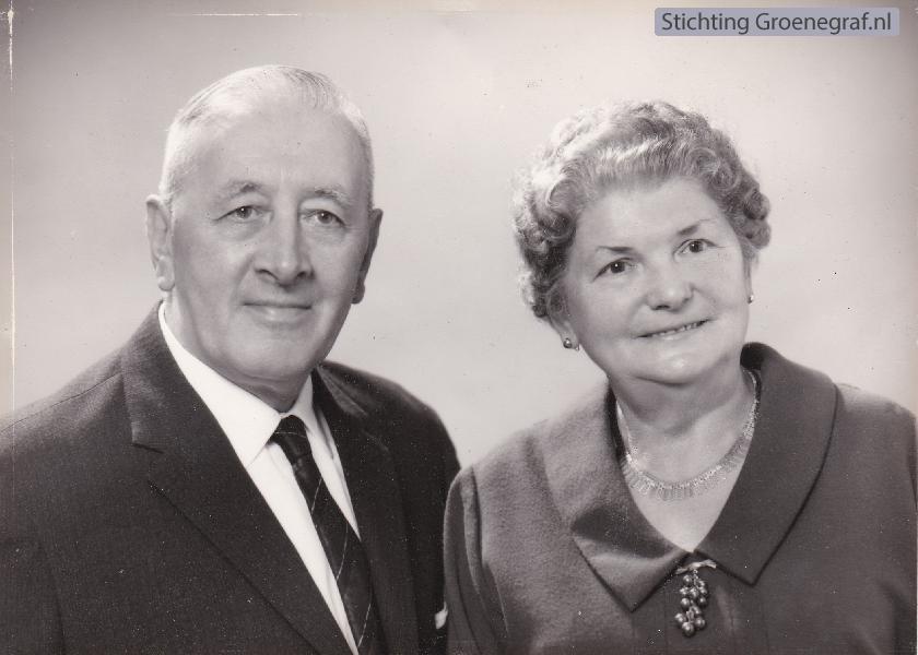 Jacob van der Heiden en Jantje Zondag