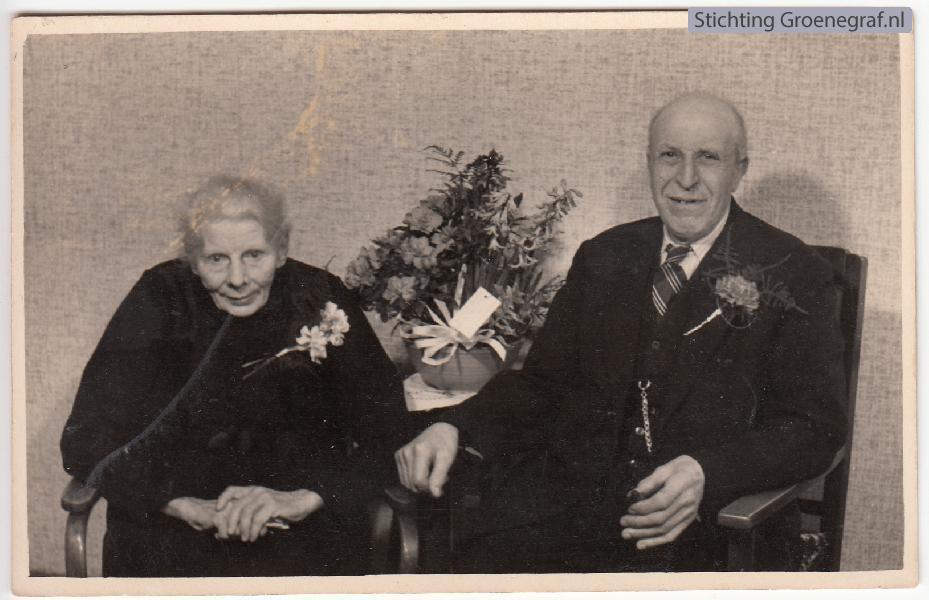 Cornelia Jansen en Johannes Hut