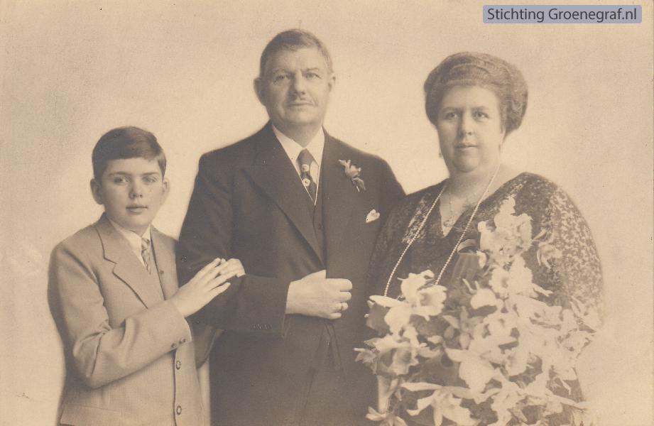 Frans Evert Pieter Sandberg en Jacoba Johanna Maria Cornelia Agatha Hooft Graafland