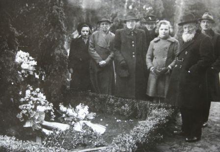Foto  Begrafenis Hendrika van der Woord