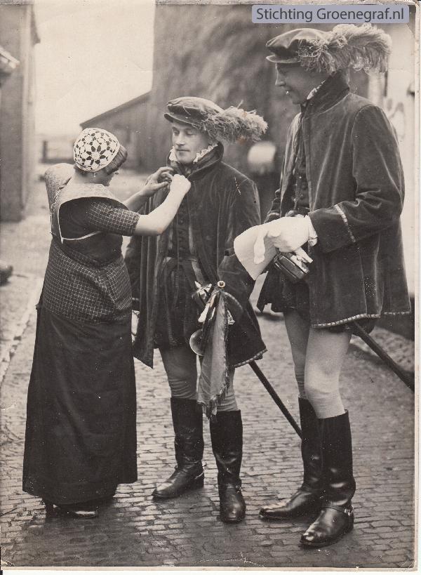 Bunschoter dame, Gosen Johannes Brölman en Gerrit Haarman