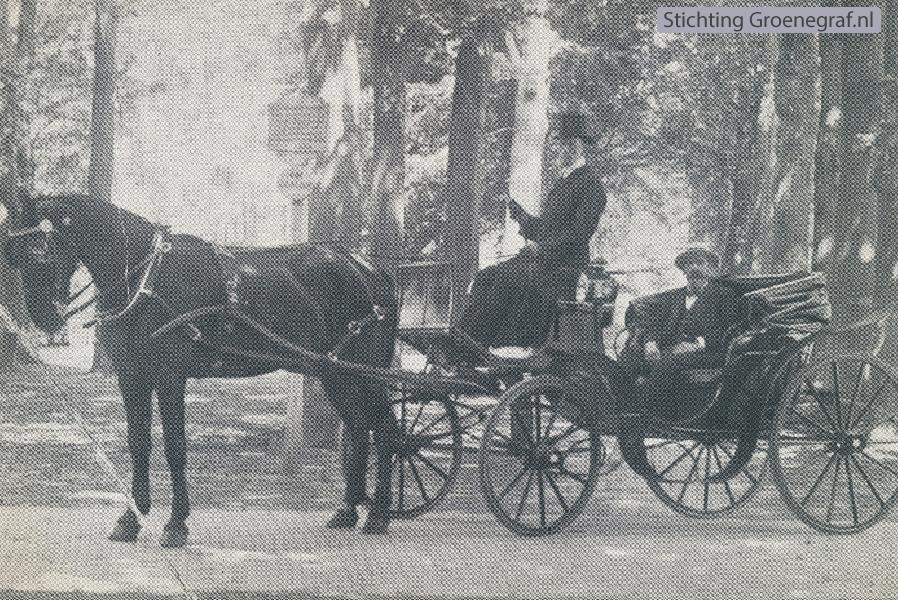 Koetsier Gerhardus Hendrik Haks en Notaris Hendrik Willem Prillevitz