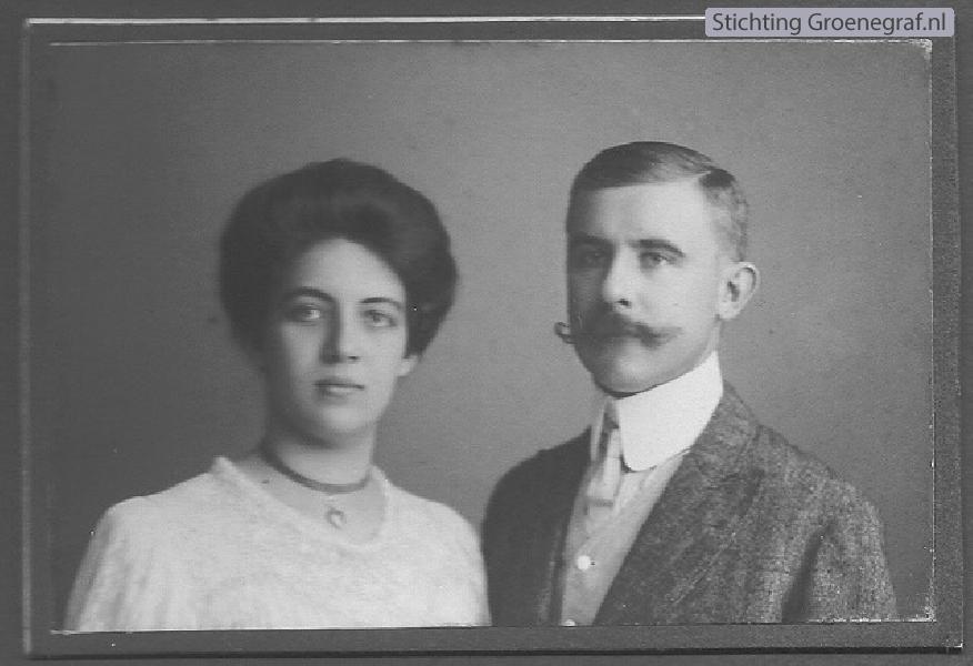 Henriette Gertrude Vlaanderen en Jan Willem Wallbrink