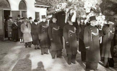 Begrafenis Hendrik Hornsveld
