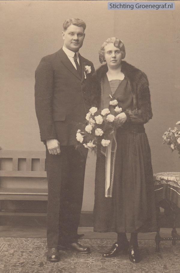 Hendrik Jacobus Edelkoort en Maartje Dekker