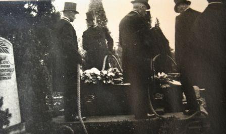 Begrafenis Nicolaas Hornsveld