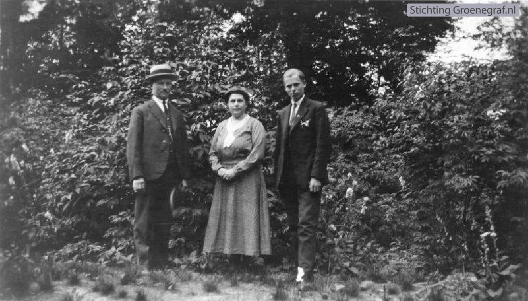 Gerhard Krijt, Jannetje van de Vis en Hendrik Johan Krijt