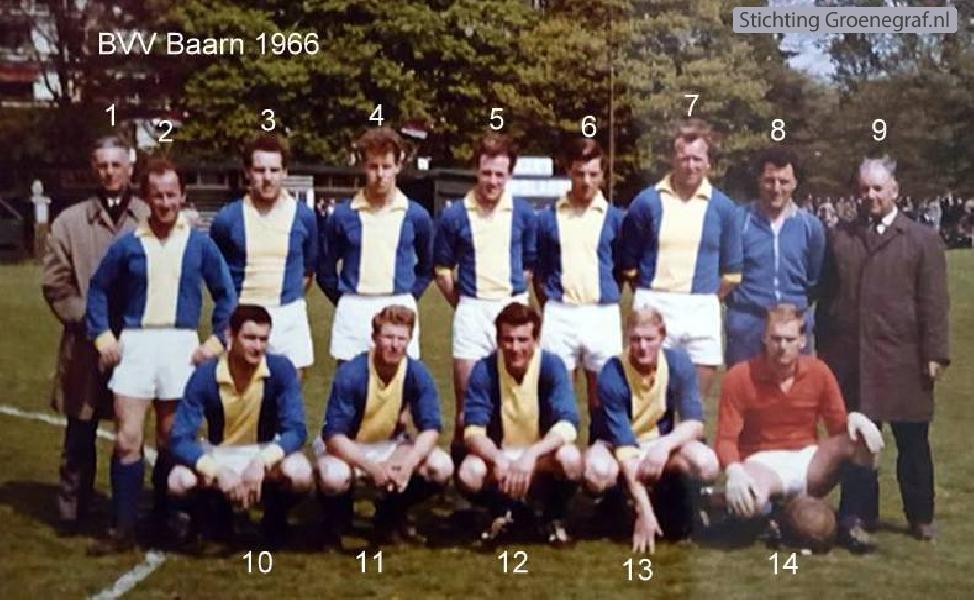 BVV Baarn 1e elftal 1966