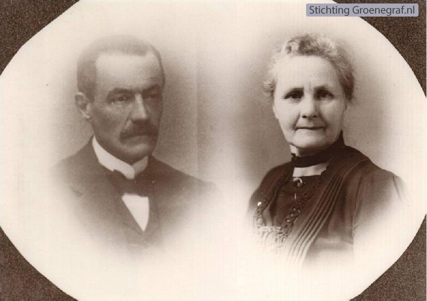 Laurentius Rademaker en Gerritje Brons