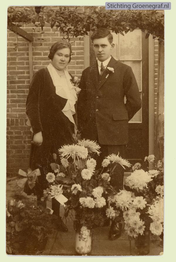 Johan Pieter Gros en Cilia Papenhuijzen