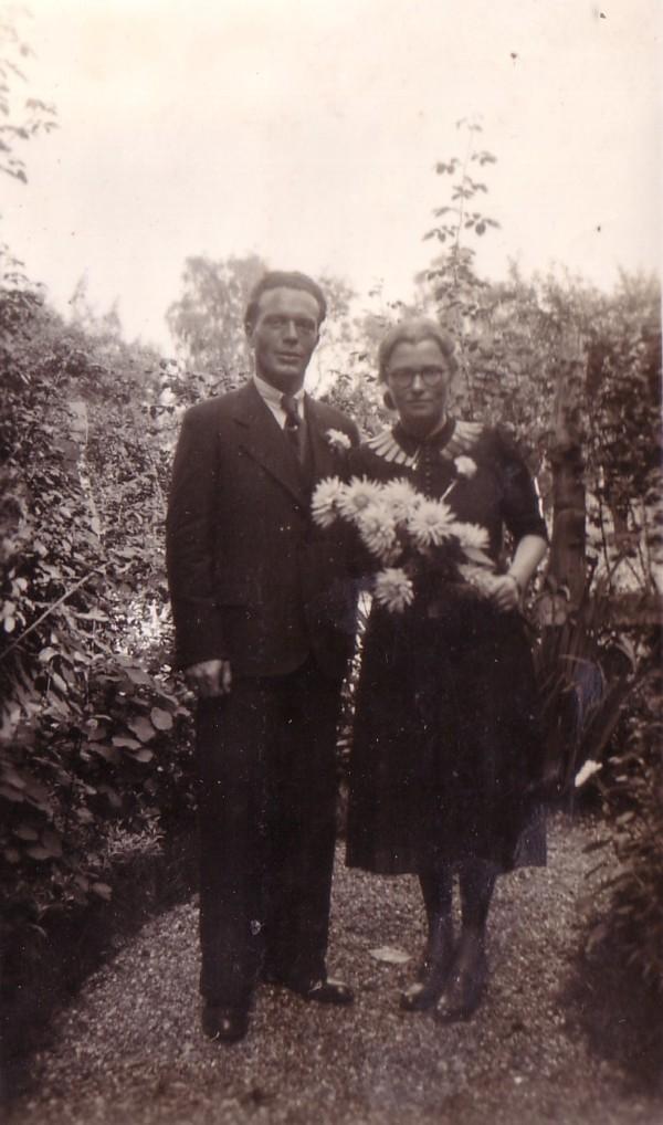Barend van der Horst en Sytske de Haan trouwfoto