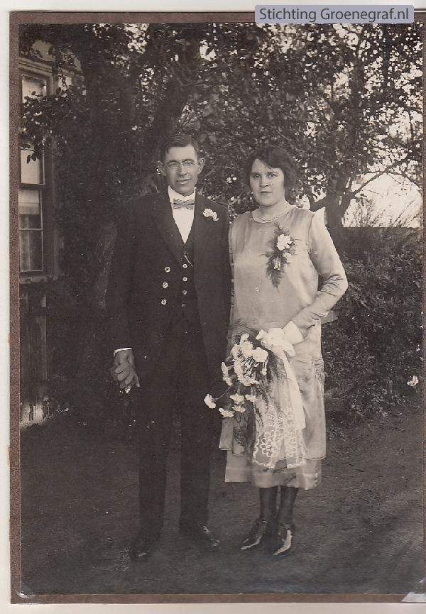 Willem van Ginkel en Alida de Koning