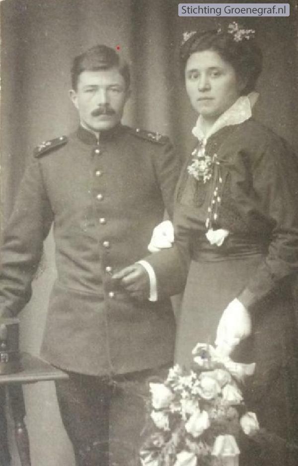 Hendrik Timmer en Ida van Veldhuizen