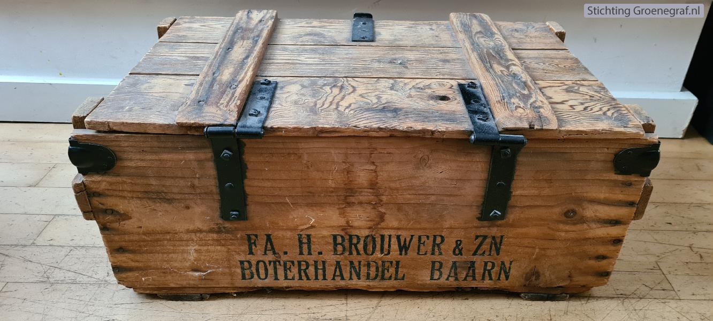 Kist Harm Brouwer boterhandel