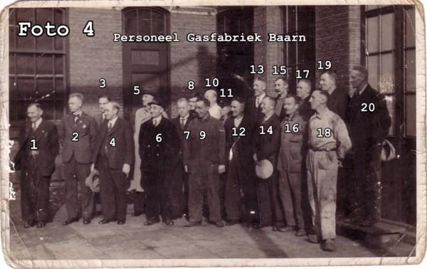 Personeel Gasfabriek Baarn