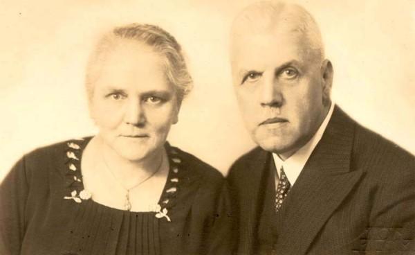 Anna Maria van Duijvenbooden en Cornelis Gijsbertus Langelaar