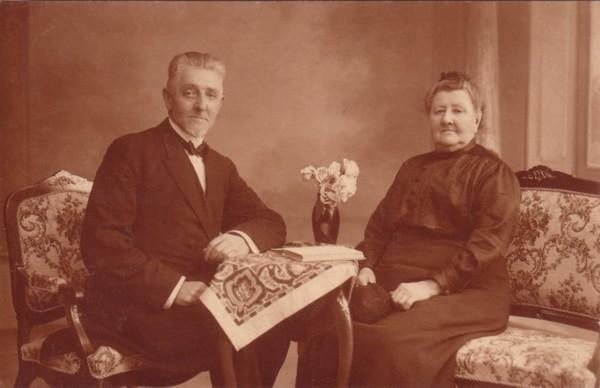 Ds. Gerrit Molenaar en Maartje Vos