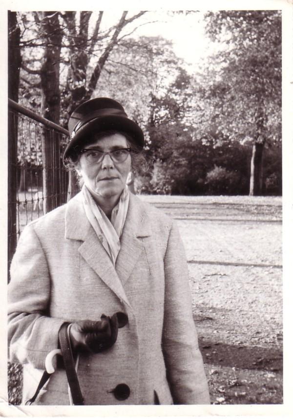 Elisabeth van der Horst op latere leeftijd