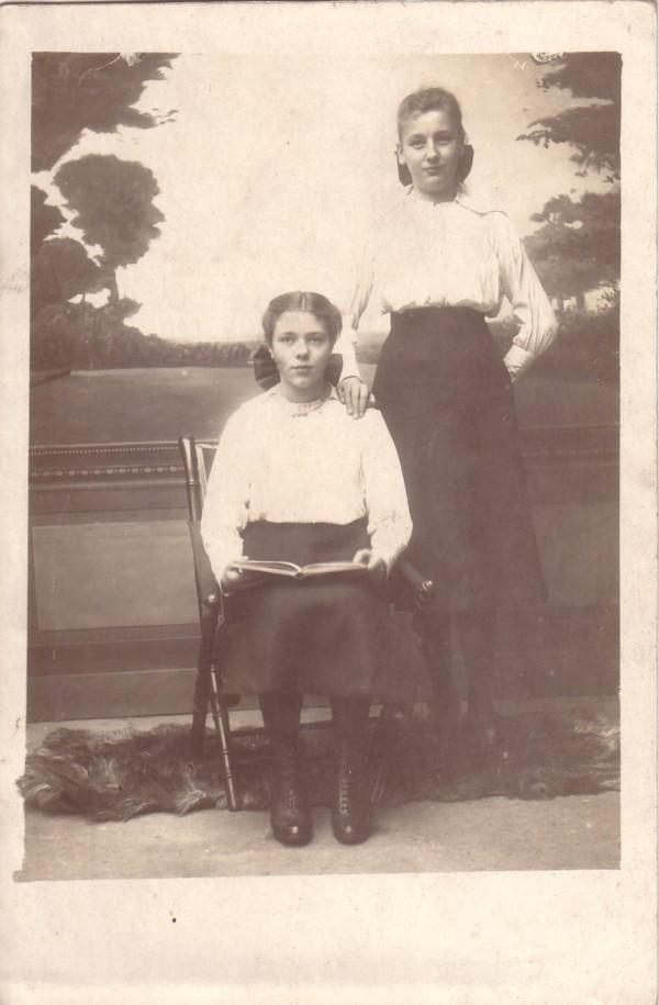 Elisabeth van der Horst en Dorathea Elisabeth Roskamp