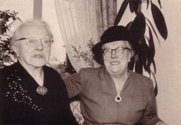 Francina Maria Snijder en Cornelia Snijder