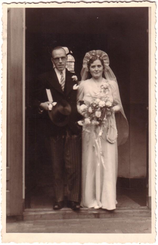 Hendrik van der Horst en Sophia Buckert trouwfoto
