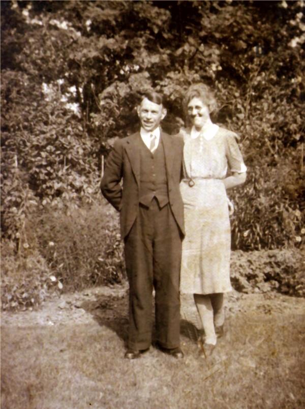 Willem de Koning en Jannetje Roos