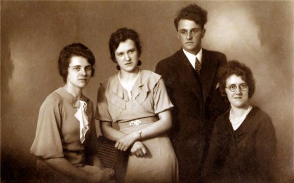 Geertruida, Antonia, Wouterus en Jannetje Roos