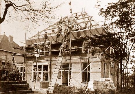Villa Prins Hendriklaan 94 Baarn gebouwd in opdracht van Seijmonsbergen door Onvlee