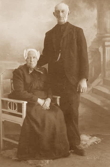 Carolina Hornsveld en Gerrit Langelaar