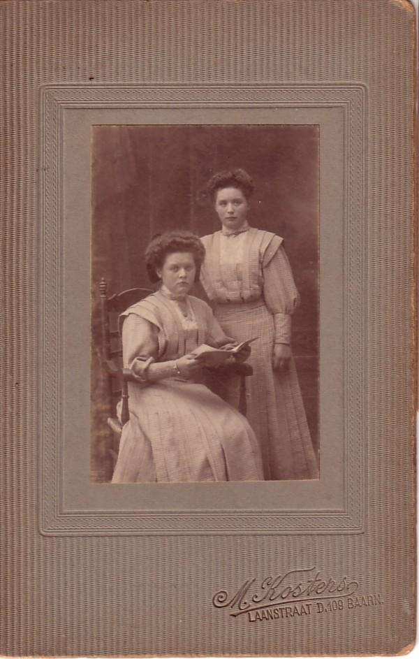 Johanna Maria van Dijk en Adriana Johanna Maria van Dijk