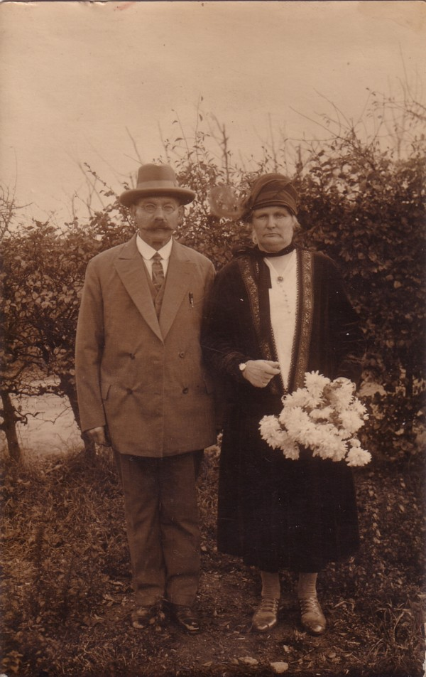 Foto  Cornelis Geijtenbeek en Margaretha van de Kuilen