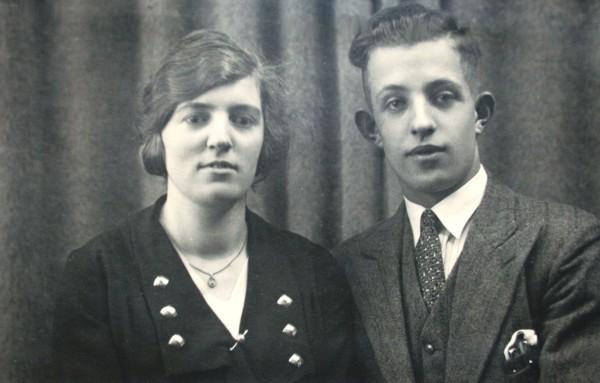 Jan Gijsbertus Johannes van de Hoef en echtgenote Geertje Johanna Utrecht