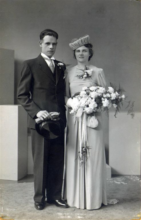 Anthony Slagboom en Geertruida Roos trouwfoto