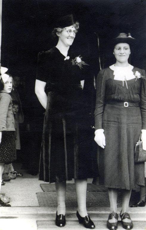 Jannetje Roos en Jannetje Slagboom